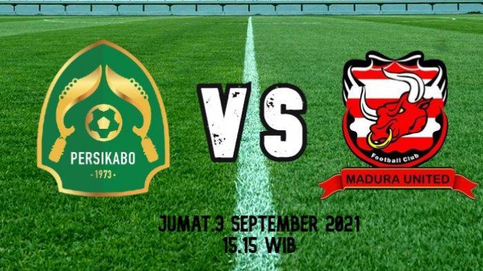 Link Live Streaming Persikabo vs Madura United, Sore Ini Pukul 15.15 WIB di O'Channel & Vidio.com