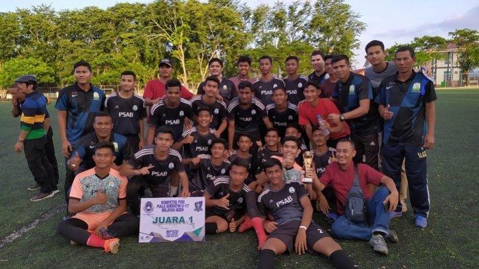 PSAB Aceh Besar Juara Piala Soeratin Aceh, Berhak Tampil di Tingkat Nasional