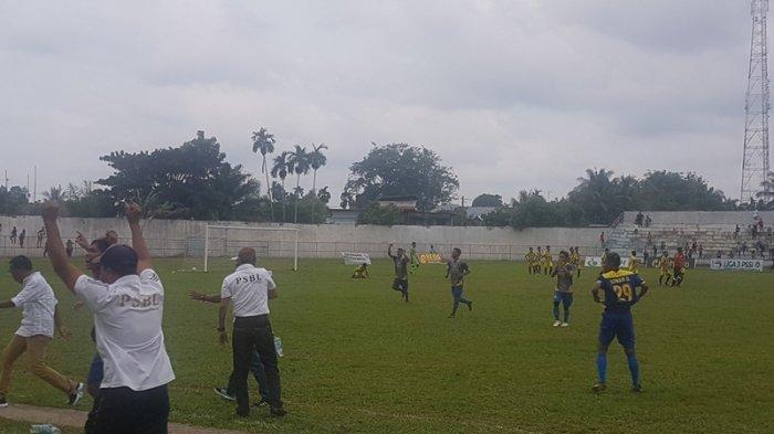 Babak 6 Besar Liga 3 PSSI Aceh, Wahyu Selamatkan PSBL Langsa dari Galacticos Peusangan Raya