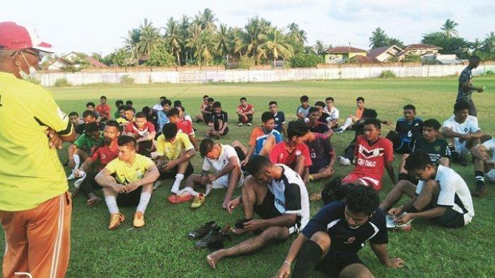Askab PSSI Aceh Timur Seleksi Pemain Pra-PORA