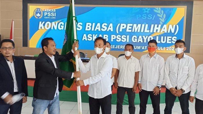 Amin Tunjung Pimpin PSSI Gayo Lues