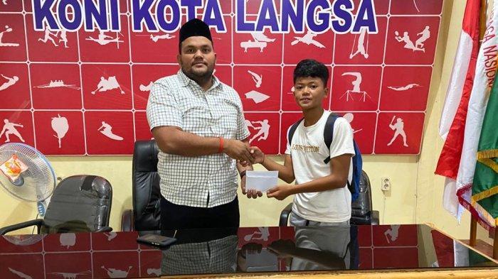 Ikut Seleksi Timnas di Jakarta, PSSI Langsa Bantu Keberangkatan David Albayu
