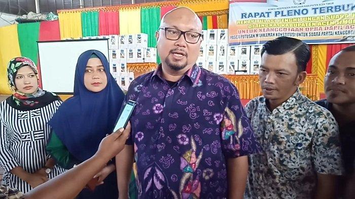 BREAKING NEWS: Hasil PSU di Peureulak Timur, PNA Raih 614 Suara, Berkurang dari Sebelumnya 775 Suara