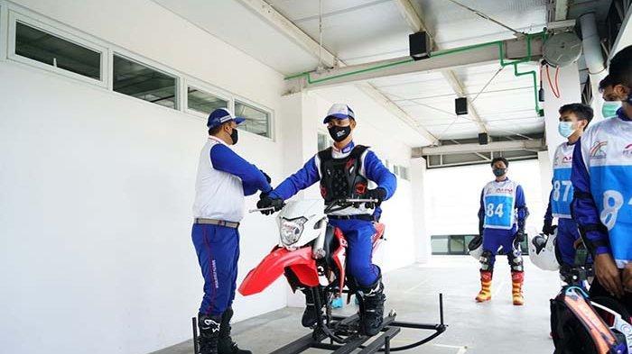 AHM Gelar Pelatihan di Fasilitas Safety Riding Park