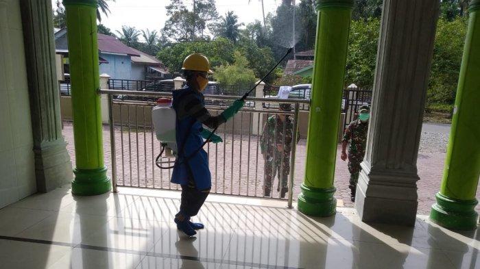 PT Surya Panen Subur 2 Lakukan Disinfektan di Kecamatan Darul Makmur, Nagan Raya