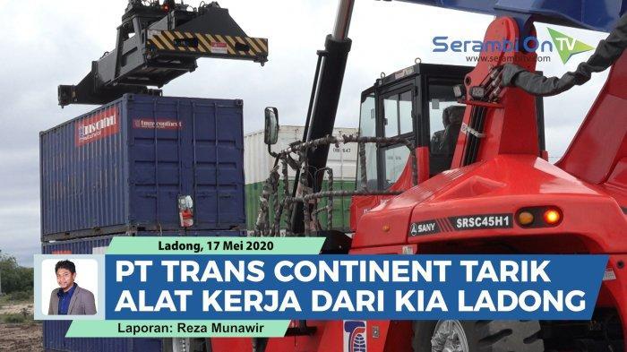 Usai Tarik Peralatan dari KIA Ladong, Alat Kerja PT Trans Continent Dipinjam Pelindo Malahayati