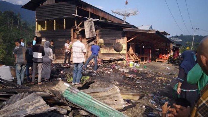 Penuturan Korban Kebakaran di Gayo Lues, Uang Panen Jahe Rp 30 Juta Hangus Terbakar, Ini Kisahnya