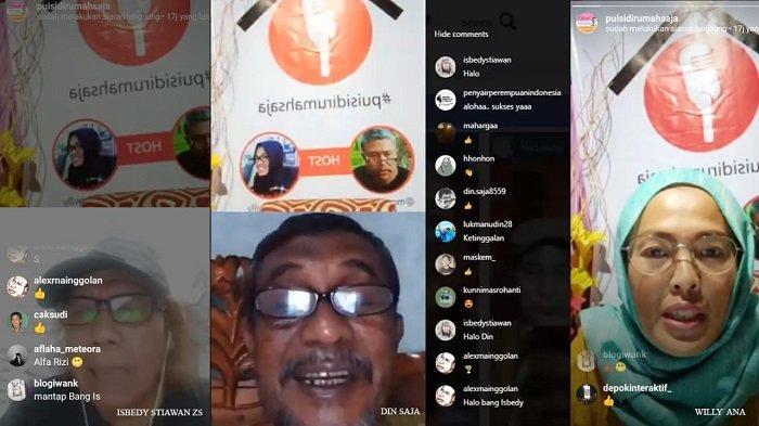 Mengenang Chairil Anwar, Penyair Indonesia Baca Puisi Secara Virtual