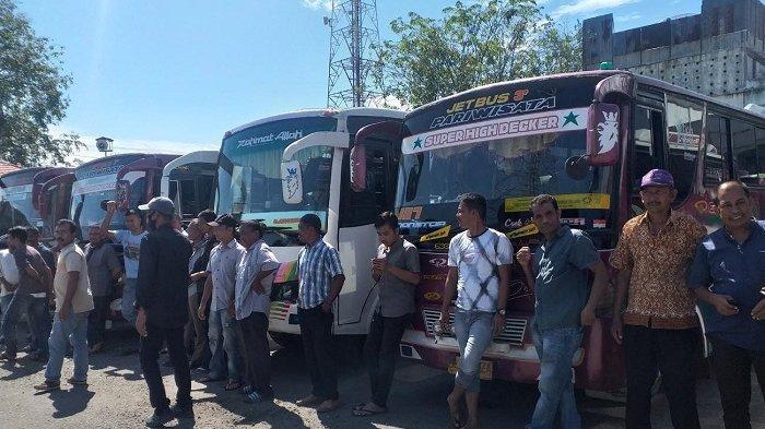 Soal Sopir Bus Unjuk Rasa, Dishub Bireuen akan Berembuk dengan Organda