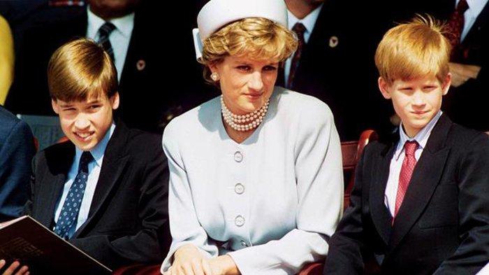 Begini Reaksi Pangeran William dan Harry Saat Terima Kabar Putri Diana Meninggal