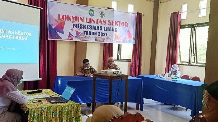 Lokakarya Mini Perdana, Puskesmas Lhang Evaluasi Pelayanan Kesehatan di Kecamatan Setia