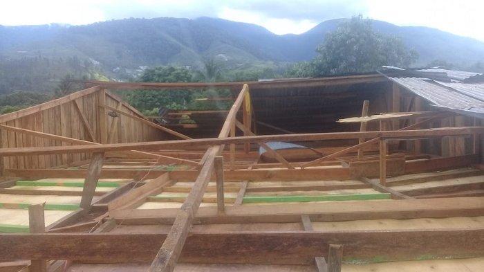 Dua Unit Rumah Warga Blangpegayon Diterjang Angin Puting-beliung, Berikut Nama Korbannya