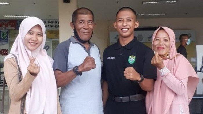 Putra Danramil di Nagan Raya Lulus Akademi Militer