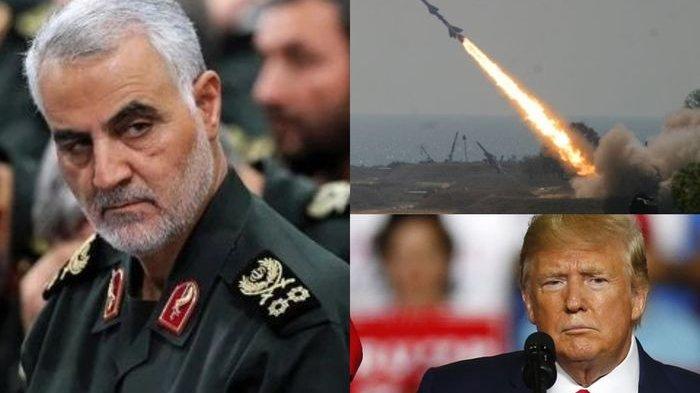 Peringati 40 Hari Kematian Soleimani, Iran Hujani Pangkalan AS dengan Roket Berjuluk Stalin Organ