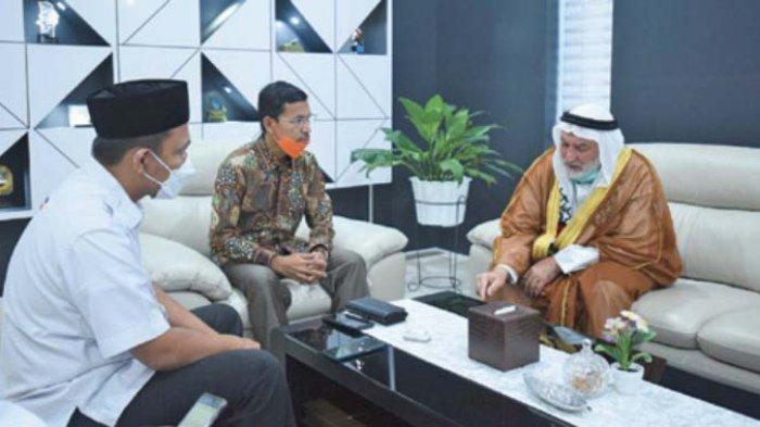 Ketua DPRK Terima Kunjungan Ulama Palestina bersama KNRP Aceh