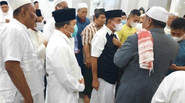 Gubernur Sumut Sumbang Semen 5.000 Sak, Untuk Pembangunan Masjid Darul Falah Langsa