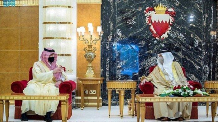 Raja Bahrain Terima Kunjungan Menteri Dalam Negeri Arab Saudi