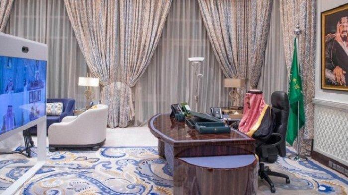Dubes Baru Arab Saudi Mengucapkan Sumpah di Hadapan Raja Salman