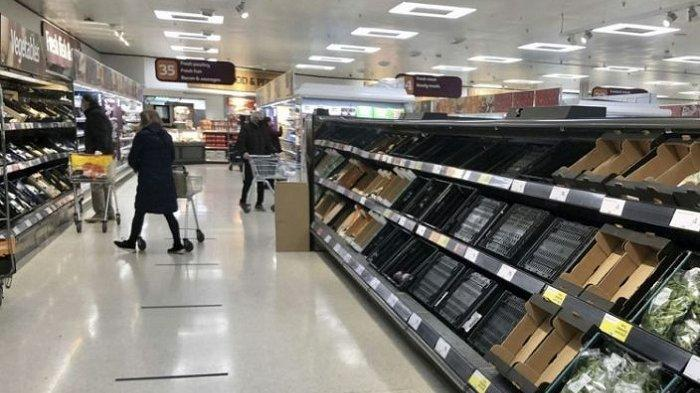Inggris Keluar Uni Eropa, Irlandia Utara Mulai Kekurangan Bahan Makanan