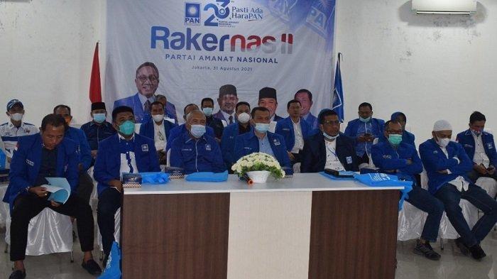 Pengurus PAN Aceh Ikuti Rakernas II Secara Virtual