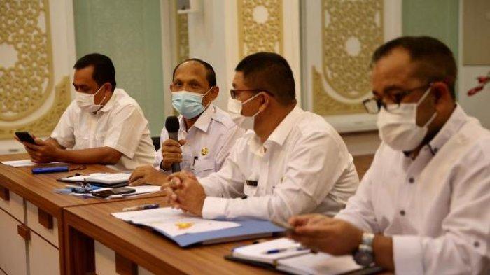 Kepala SKPA Bahas Soal Pemberlakuan Pembatasan Kegiatan Masyarakat Mikro, Melanggar, Ini Sanksinya