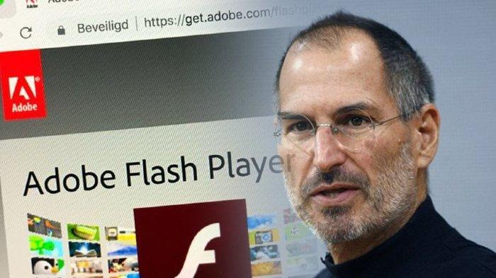 Prediksi Steve Jobs Tahun 1990 Benar, Adobe Flash Player Mulai 12 Januari 2021 tak Bisa Pakai Lagi