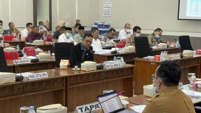 Rapat Pertanggungjawaban APBA 2020 Kembali Ditunda