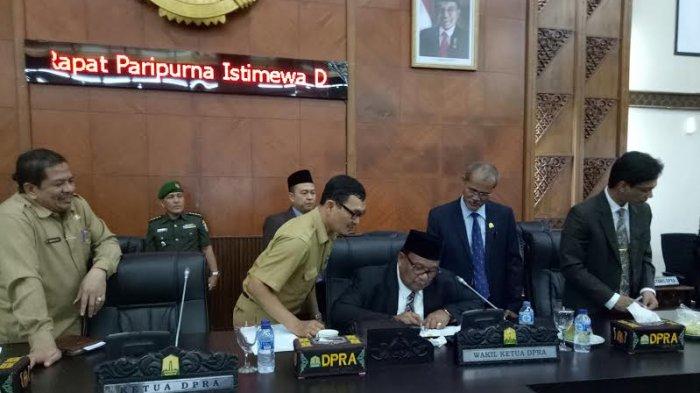Paripurna DPRA Terkait Gubernur Terpilih Tanpa Ketua, Ini Kata Wakil