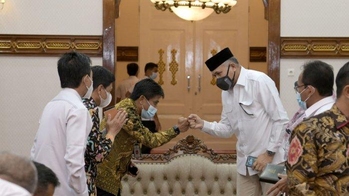 Rapat dengan Itjen Kementan RI, Gubernur Aceh Komit Kawal Pembangunan Pertanian