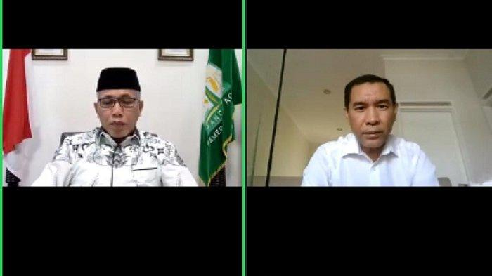 Buka Pertemuan Virtual HUT TIM, Nova Paparkan Upaya Pengendalian Covid-19 di Aceh