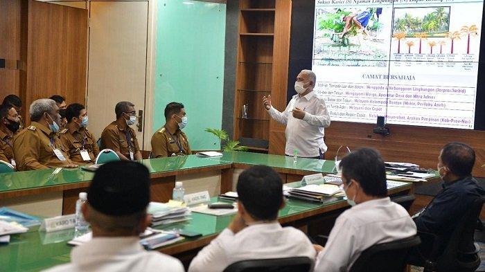 Sekda Undang Camat Se-Aceh Paparkan Buku Kerja 2021