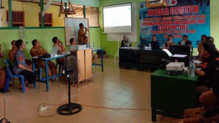 Pemkab Aceh Selatan Gelar Rapat Lanjutan Penanganan Covid-19