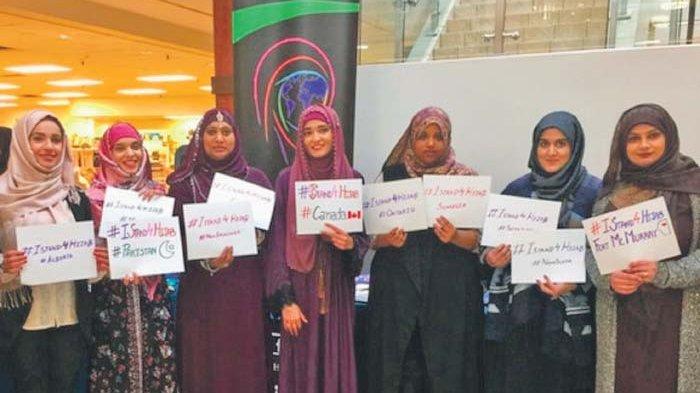 Berbagai Macam Hijab di AS