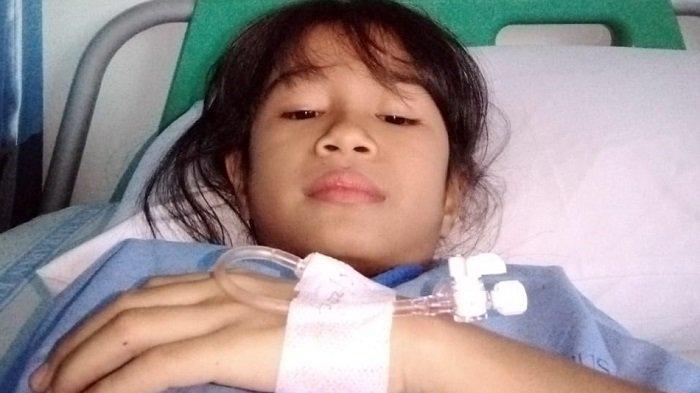 Rayatul Nisa Menderita Bocor Jantung, Keluarga Mohon Doa dan Bantuan