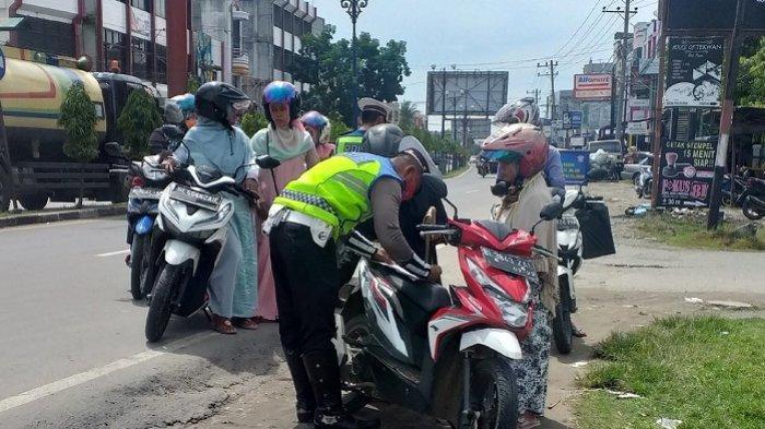 Razia Operasi Patuh Seulawah Bireuen, Pelanggaran Didominasi Para ABG