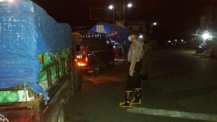 Polres Aceh Tenggara Razia Angkutan Umum & Pribadi yang Mudik, di Perbatasan Sumut dan Gayo Lues