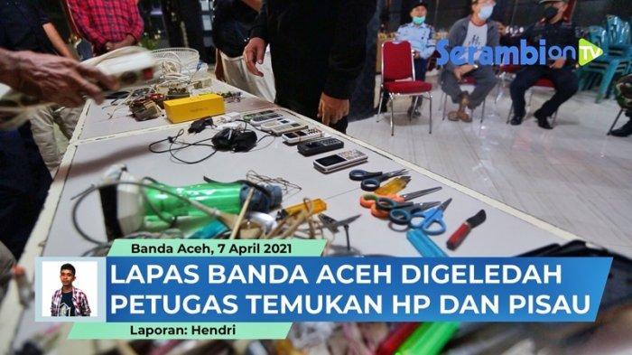 Kemenkumham Aceh Minta Sipir Tingkatkan Penggeledahan Barang Titipan, Antisipasi Sabu Masuk Lapas