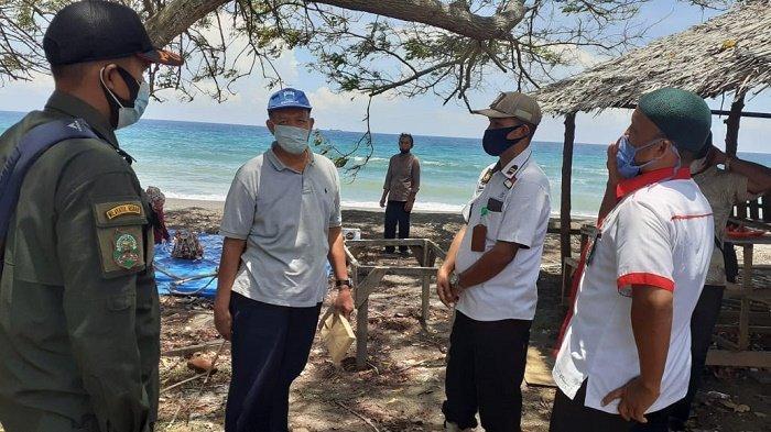 Satpol PP dan WH Aceh Besar Razia Objek Wisata Pantai Anoi Itam dan Blang Ulan, 12 Orang Terjaring