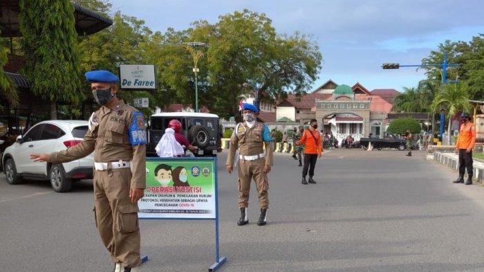 111 Orangdi Bireuen Terjaring Operasi Yustisi karena tak Pakai Masker  Ini Hukumannya
