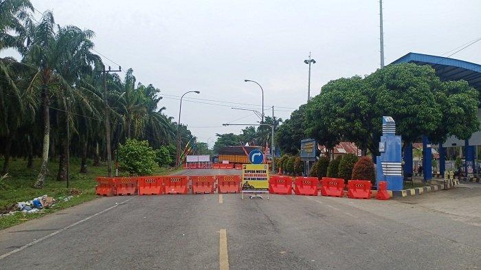 Jalan Banda Aceh-Medan Masuk ke Aceh Tamiang Ditutup Sepenuhnya, Kendaraan Wajib Diperiksa di UPPKB