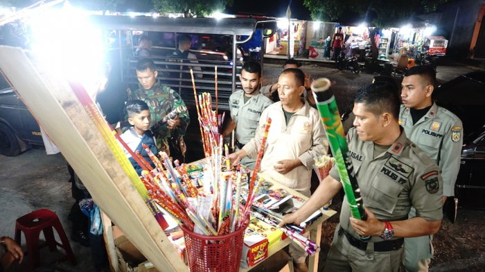 PenjualMercon di Gampong Baro ke Jaksa