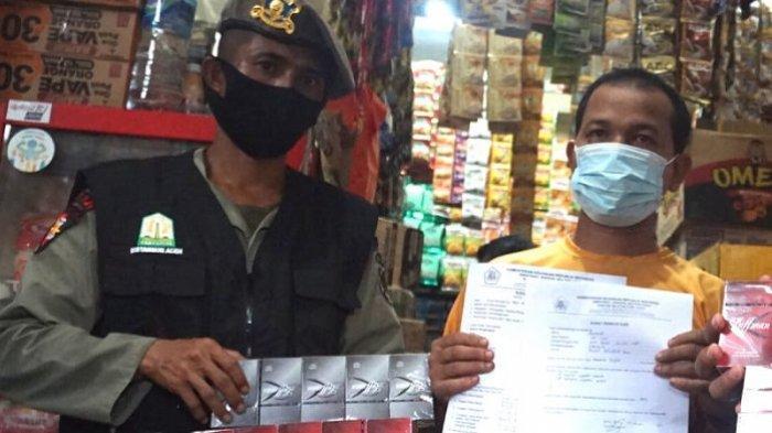 Tim Gabungan Gelar Operasi Pasar, Petugas Amankan 384 Bungkus Rokok Ilegal, Ini Rincian Mereknya