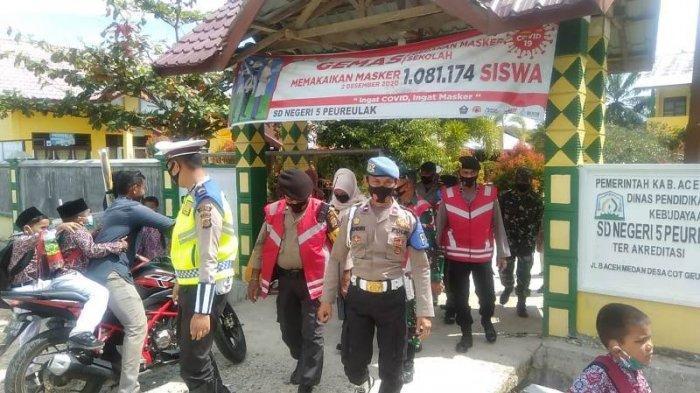 Tim Satgas Covid-19 Aceh Timur Razia Protkes ke Sekolah dan Acara Khitanan Massal, Ini Hasilnya