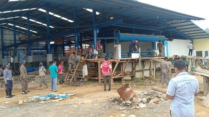Satgas Covid-19 Razia Protkes ke Pabrik Es di Kuala Idi, Satu Pabrik Terancam Sanksi