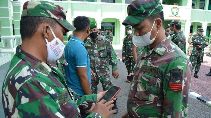 Handphone Personel Kodim Aceh Utara Diperiksa, Kedapatan Main Judi Online Akan Ditindak Tegas