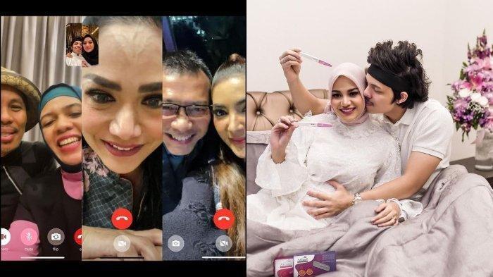 Bakal Jadi Nenek, Reaksi Krisdayanti Nangis Terharu Dikabari Aurel Hermansyah Hamil Anak Pertama