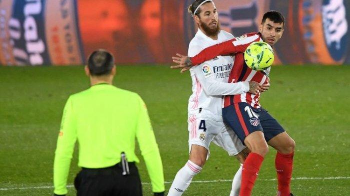 Duel Derbi Atletico Madrid Vs Real Madrid, Karim Benzema Siap Tempur, Luis Suarez Jadi Ancaman