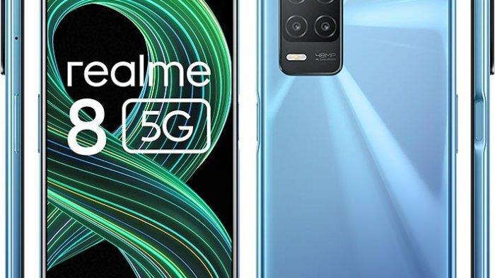 Spesifikasi dan Harga Realme 8 5G, Ponsel 5G Termurah yang Punya Kapasitas Baterai Besar