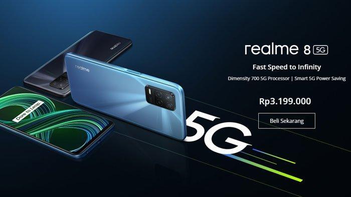 Daftar Harga HP Realme Akhir Juni 2021 Terbaru, Realme 8 5G jadi Ponsel 5G Murah di Indonesia