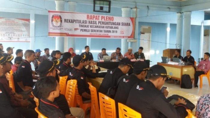 Di Bireuen, Baru Tiga Kecamatan Selesai Rapat Pleno Rekapitulasi Hasil Pemilu